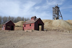 Hoosier Gold Mine, Colorado Stock Image