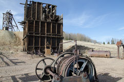 Hoosier Gold Mine, Colorado Stock Photo