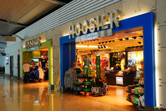 Hoosier Marketplace. The Hoosier Marketplace is one of several retail outlets in the Indianapolis International Airport royalty free stock photography