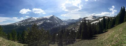 Hoosier Pass, Colorado royalty free stock photo