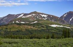 Hoosierpasserande, Colorado royaltyfria foton