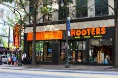 Hooters, Atlanta, GA. Royalty Free Stock Photography