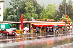 Hooters Bar & Restaurant in Switzerland Royalty Free Stock Photography