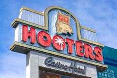 Hooters Casino Hotel Royalty Free Stock Photo