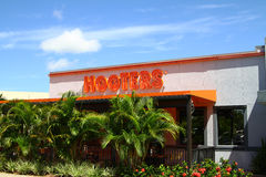 Hooters restaurant Royalty Free Stock Images