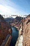 hoover запруды перепуска моста Стоковые Изображения RF