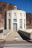 Hoover Dam. Tower. Clock with Nevada's time Stock Photo
