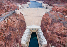 A Hoover Dam stock photos