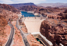 A Hoover Dam royalty free stock photos