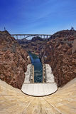 Hoover dam. Photo taken in bright sun light during day Royalty Free Stock Images