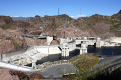 Hoover Dam. Near Las Vegas Royalty Free Stock Photo