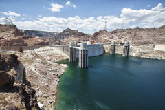 Hoover dam. View of the Hoover Dam in Nevada, USA Royalty Free Stock Photos