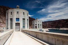 Hoover Dam. The famous Hoover Dam in Black Canyon Royalty Free Stock Photography