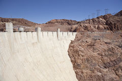 Hoover Dam. An engineering landmark, Boulder City, Nevada Stock Photography
