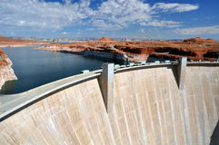 Hoover Dam. In the United states of Americ Stock Photography
