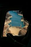 Aerial Hoover Dam Stock Image