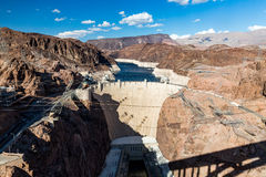 Hoover Dam And Lake Mead Stock Image