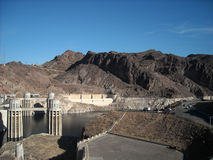 Hoover Dam in Arizona Royalty Free Stock Image