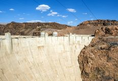 Hoover Dam - Arizona, AZ Stock Photo