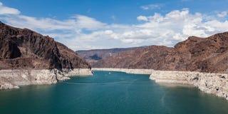 Hoover Dam, between Arizona and Nevada Stock Photo