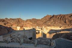 Hoover Dam at Arizona - Nevada Border, USA Royalty Free Stock Images