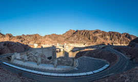 Hoover Dam at Arizona - Nevada Border, USA Stock Photos