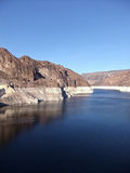 Hoover Dam. The Hoover Dam in Arizona Nevada, Lake Mead Royalty Free Stock Images