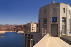 Hoover Dam - Arizona Time Stock Images