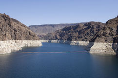 Hoover Dam bay Royalty Free Stock Photos