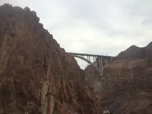 Hoover Dam. Beautiful landscape of the Hoover Dam Nature Stock Photography