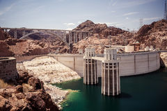 Hoover Dam Stock Photo