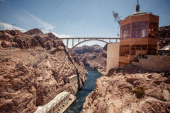 Hoover Dam Royalty Free Stock Photography