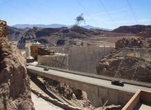 Hoover Dam. Border between the states of Nevada and Arizona, USA Royalty Free Stock Photo