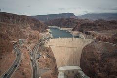 Hoover dam, boulder dam between nevada and arizona Stock Photography