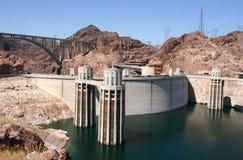 Hoover Dam (boulder dam), USA. Stock Photos