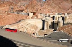 Hoover dam. Stock Images