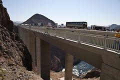 Hoover Dam Bypass Bridge Stock Photo