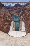 Hoover Dam Bypass Bridge Stock Image