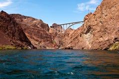 Hoover Dam bypass bridge. Mike O'Callaghan - Pat Tilman Memorial Bridge Royalty Free Stock Photo