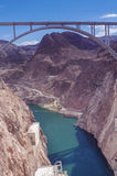 Hoover Dam Bypass Pat Tillman Memorial Bridge Royalty Free Stock Photo