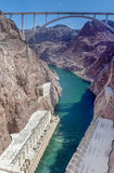Hoover Dam Bypass Pat Tillman Memorial Bridge Stock Photos