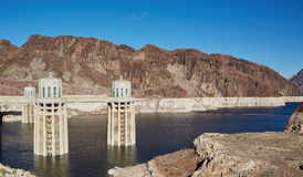 The Hoover Dam, California, USA Royalty Free Stock Photo