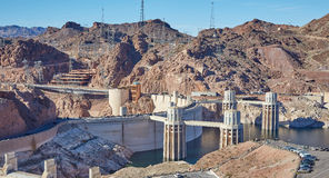 The Hoover Dam, California, USA Stock Photography