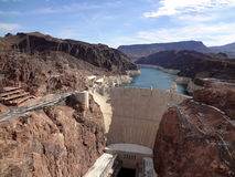 Hoover Dam and Colorado River Stock Image