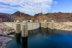 Hoover Dam. At the Colorado River Royalty Free Stock Images
