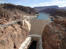Hoover Dam and Colorado River Royalty Free Stock Image