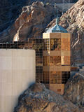 Hoover Dam on the Colorado River Royalty Free Stock Photos