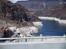 Hoover Dam on the Colorado River in the USA Royalty Free Stock Image