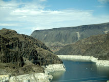 Hoover Dam on the Colorado River in the USA Royalty Free Stock Photos