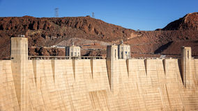 Hoover Dam an Engineering Feat Stock Image